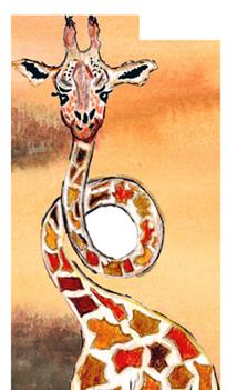 RAFU - die lustige Giraffe mit dem Looping im Hals. Lehrreiche Geschichten über Freundschaft, Toleranz und Mut.